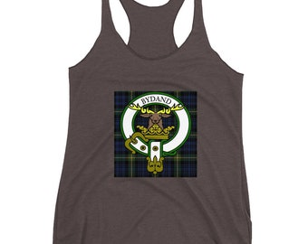 Clan Gordon Women's Racerback Tank for the Proud and Stylish Daughter of Scotland