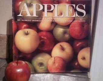 APPLES, a vintage cookbook,  kitchen from 1991