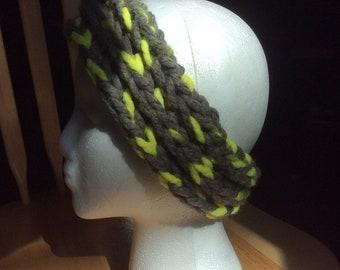 Ear warmer/headband chunky wool