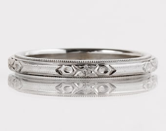engagement fine wedding blog etched debebians rings hand jewelry engraved