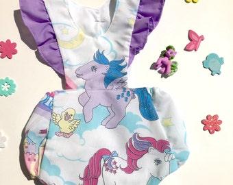 Vintage My Little Pony romper