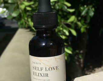Self Love Elixir - Rose & Tulsi Tincture