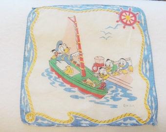 Donald Duck Childrens Handkecheif
