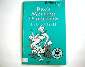 Pack Meeting Programs Life of B-P Scouts Girl Guides WAGGGS Scouting Guiding Baden Powell BP  World Chief Scout