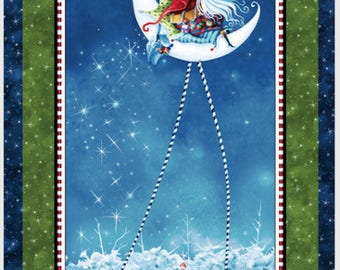 """Merriment 24"""" x 45"""" Holiday Panel from P & B by the panel"""