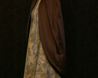 Winter Cloak With Detachable Cape
