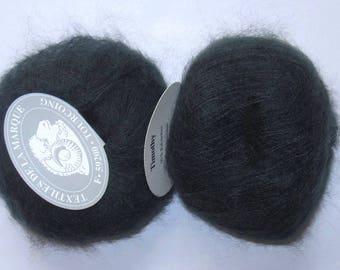 5 balls mohair Timothy textiles de la marque dark grey 15