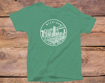 Michigan State Design - Eco Tri-Blend Infant T-Shirt