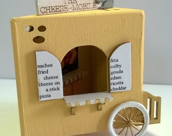 """Dollhouse Miniature Cheese Shack by Sue Herber & Karen Cary  1/4"""" Scale. (M)"""