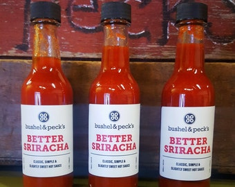 B&P's Small Batch Handmade BETTER Sriracha Sauce ***NEW***