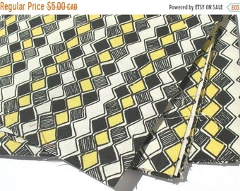 25% OFF - Honeycomb - IKEA Sebragras Cotton Fabric Quilting Charm Squares