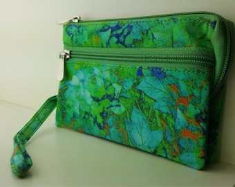 Gorgeous silk wallet