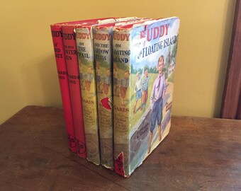 Vintage Buddy Book Series/Vintage Children's Chapter Books