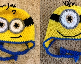 Crochet Minion Hat For All Ages and Sizes