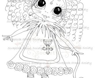 INSTANT DOWNLOAD Besties Of Oz Digital Digi Stamps Big Eyed IMG645 Big Head Dolls Digi By Sherri Baldy