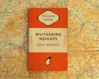 Penguin book Wuthering Heights by Emily Bronte
