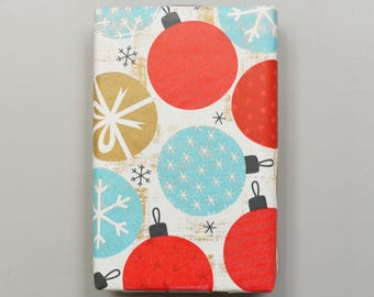 Kraft Country Christmas Ornaments Wrapping Paper, 2 Feet x 10 Feet