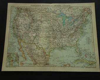 Vintage san francisco map | Etsy