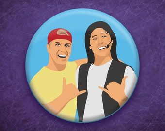 "Bill and Ted 3"" Button"