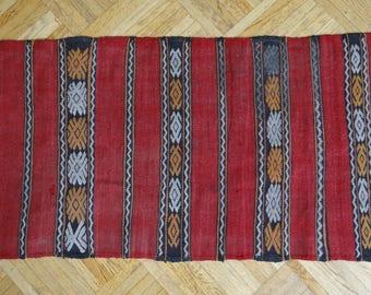 Very old Kilim - bohemian berber carpet Factory _ Original _ Vintage kilim rug-