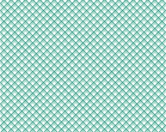 Sweet Prairie Fabric -  Gingham in Mint - fat quarter / yardage
