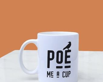 Edgar Allan Poe Mug, 11oz Mug