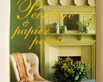 LAURA ASHLEY paint and paper book painted home decor