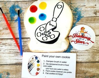 12 paint your own sugar cookies: painting