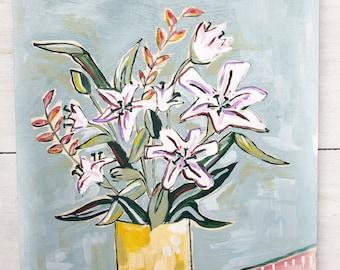 """An original painting """"Springtime Floral"""""""