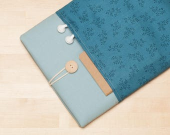 iPad case, iPad Pro 10.5 sleeve, iPad Pro 10.5 case, iPad 9.7 case,  iPad 10.5 case  - Blue sky