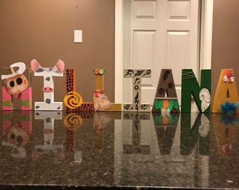 Moana Custom Name Letters - price is per letter