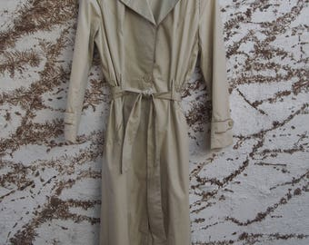 Sanro Melbourne 70s Trench Coat size 14AU