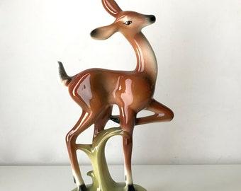 Vintage California Pottery Fawn Figurine