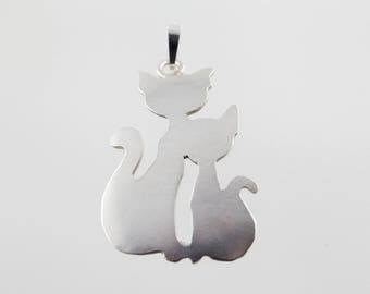 "pendant ""cats no.1"""