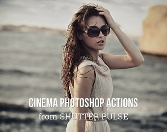 Cinema Photoshop Actions - Adobe Photoshop Actions