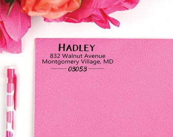 Address Stamp | Custom Stamp | Self-Inking Return Address Stamp | Personalized Address Stamp | Housewarming Gift | Invitation & Wedding