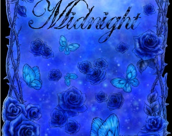 SIGNED Blue Midnight Posters