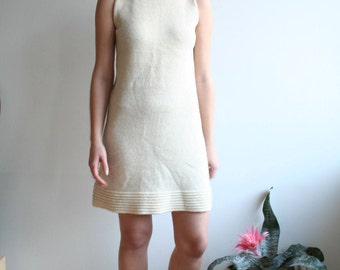 Sixties knitted wool dress