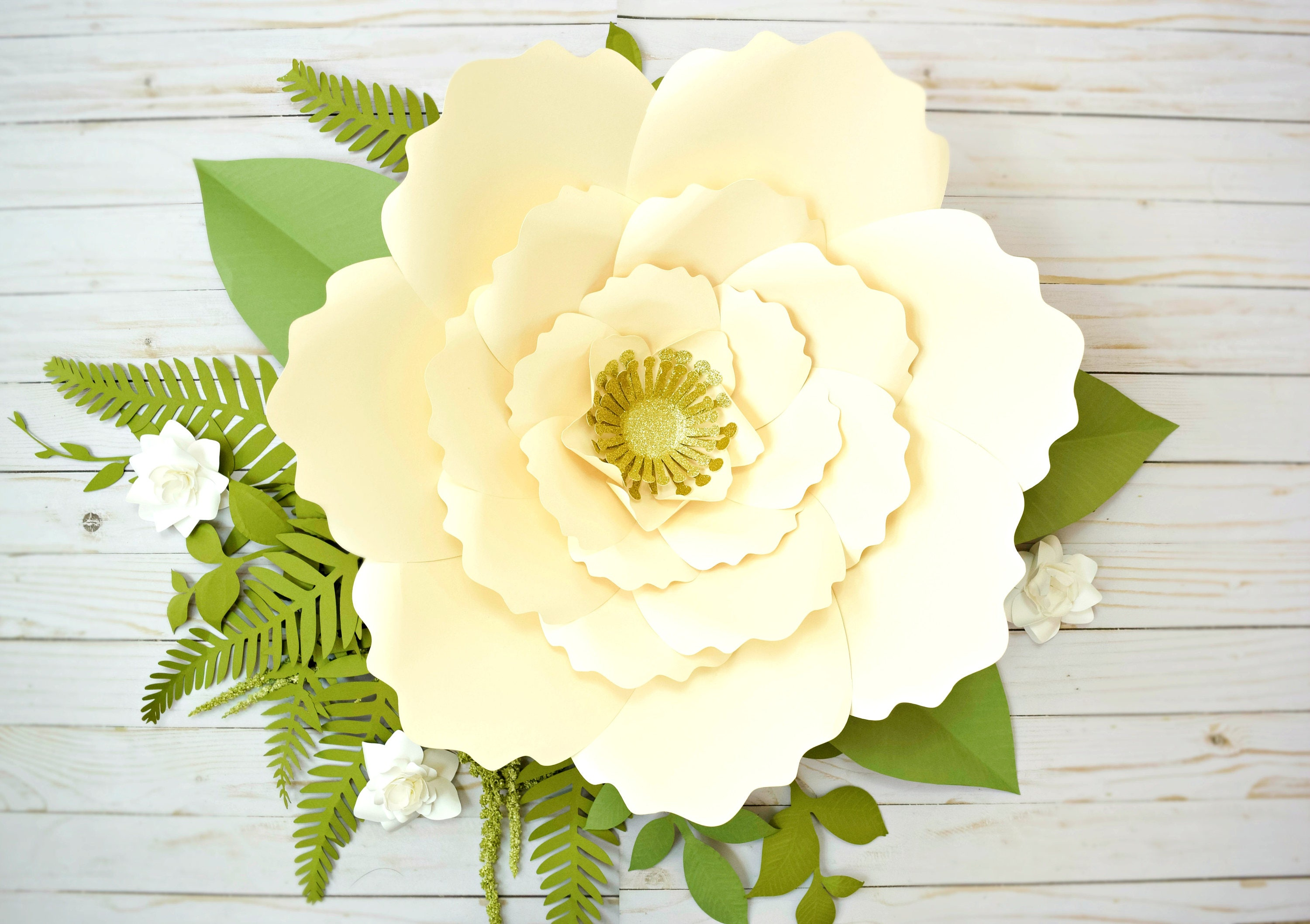 Giant Paper Flower Template Patterns and Tutorials, Giant Anemone ...