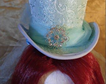 Cinderella Inspired Mini top Hat