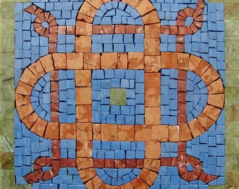 Geometric Mosaic Accent Square - Vivere