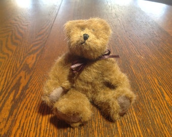 Vintage articluated small Boyd's teddy bear