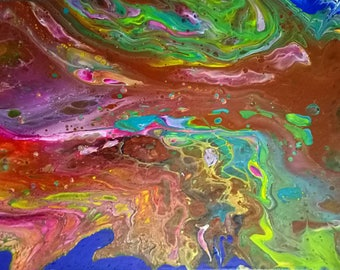 Rainbow Tree Canvas