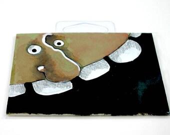 Green Monster original art