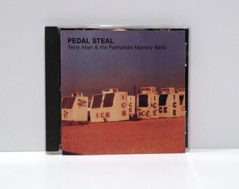 Terry Allen and the Panhandle Mystery Band Pedal Steel CD Fate Recordings Contemporary Performance Visual Artist 1988 Lubbock Texas Country