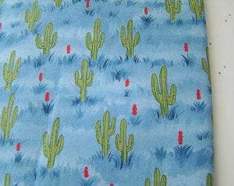 The Udder Cowboy Fabric for Moda Fabrics, Cute Cactus Fabric OOP