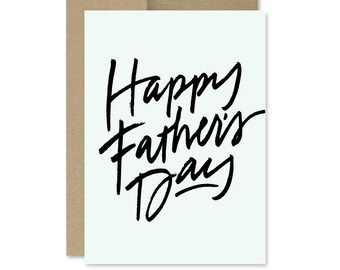 Printable Father's Day Card - Instant Download - Happy Father's Day - Father's Day - Dad's Day - Last-Minute Fathers Day Card