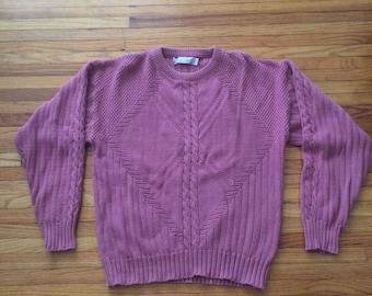 Vintage Jantzen Knit Oversize Heavy Sweater (80's)