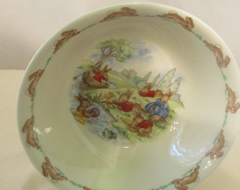 Bunnykins Bowl by Royal Doulton