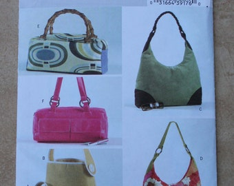 Butterick Pattern B4409 - Handbags